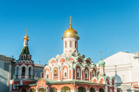 Famous st Vasily Blessed cathedral in Moscow Stock Photo - 18310642