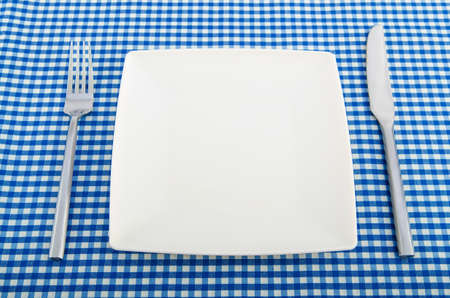 Table setting with knife and fork Stock Photo - 18310535