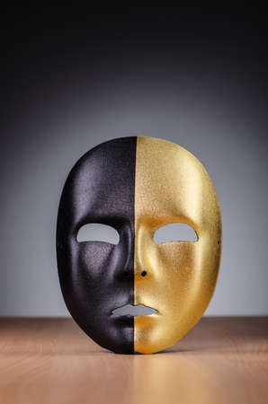 Mask against the dark background Stock Photo - 18340343