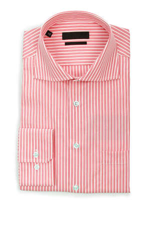 Nice male shirt isolated on the white Stock Photo - 18310955