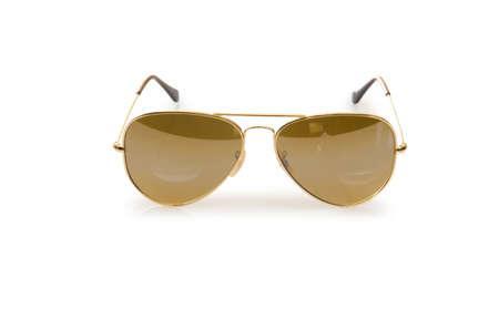 Elegant sunglasses isolated on the white Stock Photo - 18311904