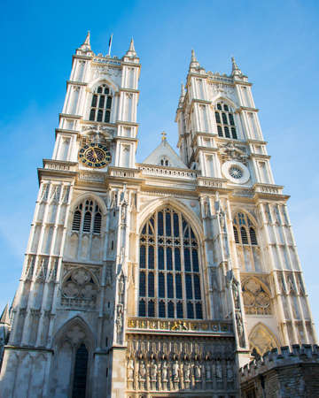 Westminster Abbey on bright summer day Stock Photo - 18511307