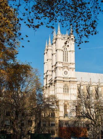 Westminster Abbey on bright summer day Stock Photo - 18511338