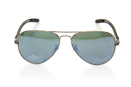 Elegant sunglasses isolated on the white Stock Photo - 18473382