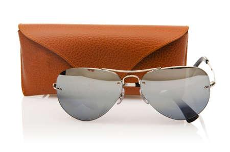 Elegant sunglasses isolated on the white Stock Photo - 18510932