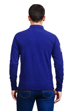 Male sweater isolated on the white Stock Photo - 18511163