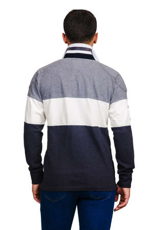 Male sweater isolated on the white Stock Photo - 18510939