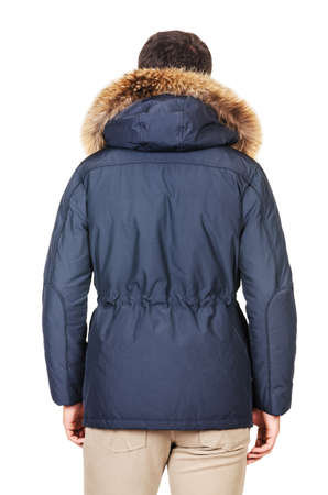 Male coat isolated on the white Stock Photo - 18484842