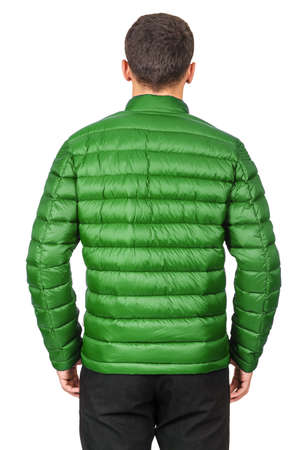 Male coat isolated on the white Stock Photo - 18484791