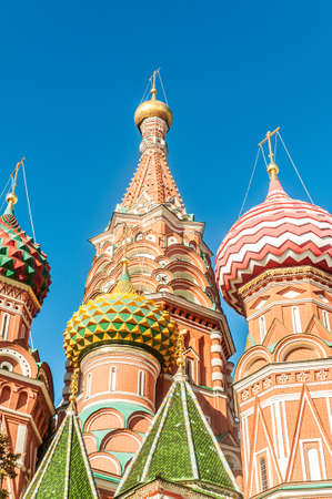 Famous st Vasily Blessed cathedral in Moscow Stock Photo - 18485368