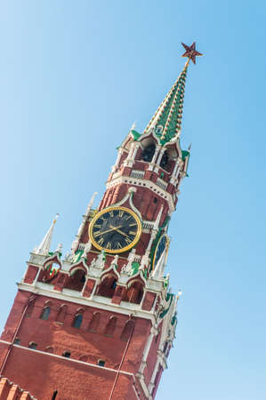 Famous tower of Moscow Kremlin Stock Photo - 18484793