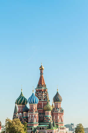 Famous st Vasily Blessed cathedral in Moscow Stock Photo - 18484575