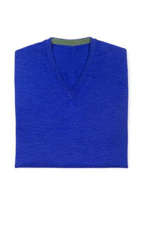 Male sweater isolated on the white Stock Photo - 18537180