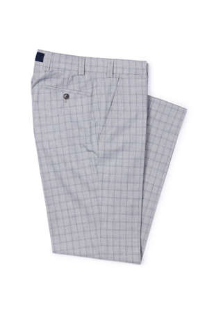 Fashion concept with trousers on white Stock Photo - 18484566
