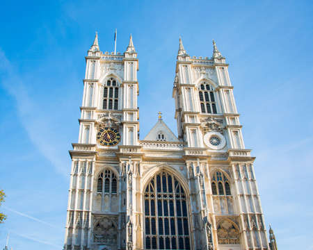 Westminster Abbey on bright summer day photo