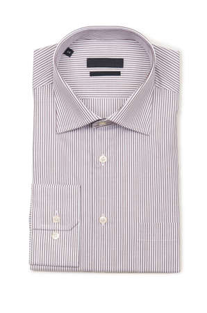 Nice male shirt isolated on the white Stock Photo - 18609611