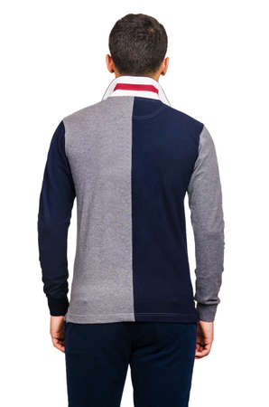 Male sweater isolated on the white Stock Photo - 18609202