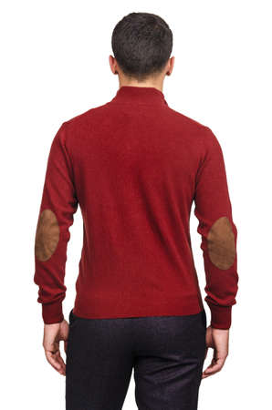Male sweater isolated on the white Stock Photo - 18609200