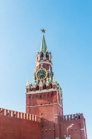 Famous tower of Moscow Kremlin Stock Photo - 18609487