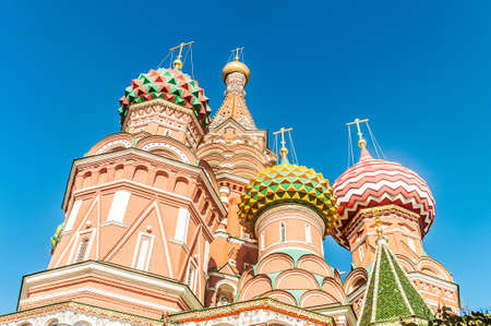 Famous st Vasily Blessed cathedral in Moscow Stock Photo - 18609769