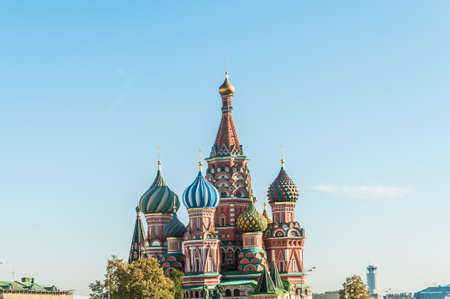 Famous st Vasily Blessed cathedral in Moscow Stock Photo - 18608887