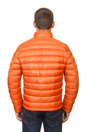 Male coat isolated on the white Stock Photo - 18608918
