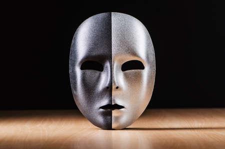 Mask against the dark background Stock Photo - 18609605