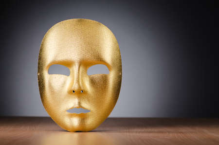 Mask against the dark background Stock Photo - 18609772