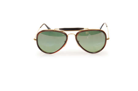Elegant sunglasses isolated on the white Stock Photo - 18610501