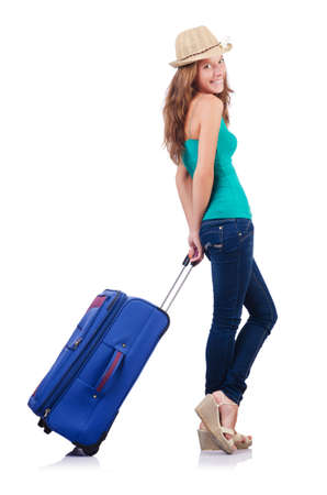 Attrative woman ready for summer vacation Stock Photo - 18679670