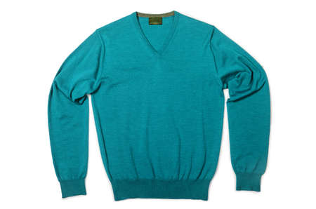 Male sweater isolated on the white Stock Photo - 18615806