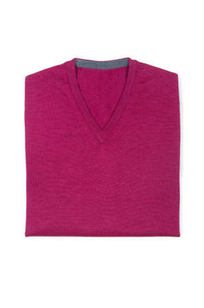 Male sweater isolated on the white Stock Photo - 18615127