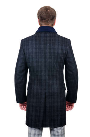 Male coat isolated on the white Stock Photo - 18614950