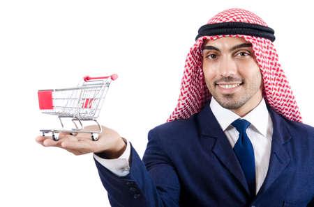 Arab businessman isolated on white Stock Photo - 18680324