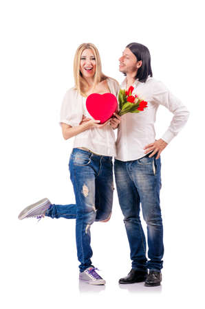 Pair of man and woman Stock Photo - 18680045