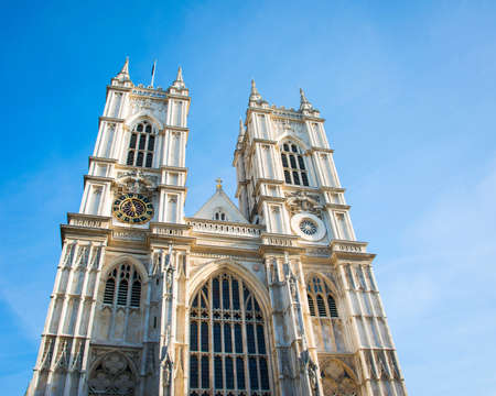Westminster Abbey on bright summer day Stock Photo - 18745015