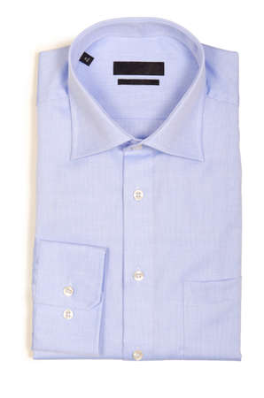 Nice male shirt isolated on the white Stock Photo - 18744977