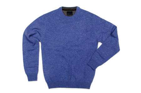 Male sweater isolated on the white Stock Photo - 18744879