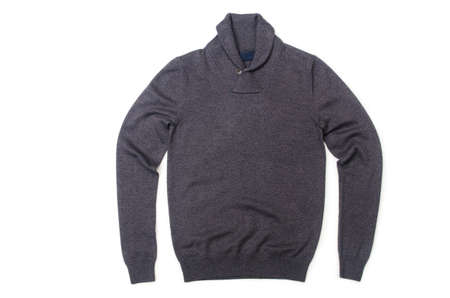 Male sweater isolated on the white Stock Photo - 18744884