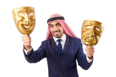 homme arabe: Arabe concept de l'hypocrisie homme