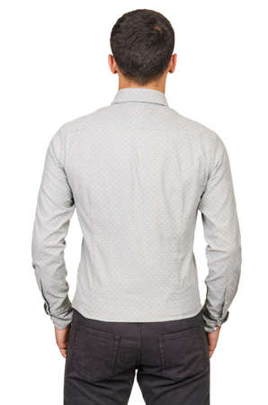 Male sweater isolated on the white Stock Photo - 18744309