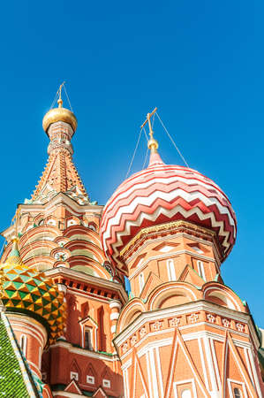 Famous st Vasily Blessed cathedral in Moscow Stock Photo - 18744955