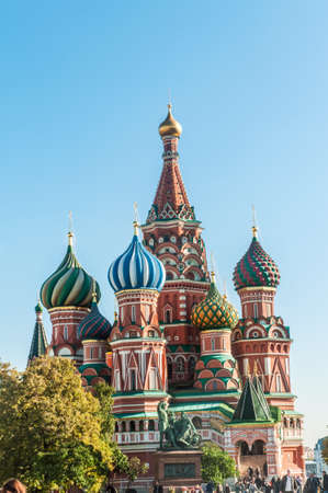 Famous st Vasily Blessed cathedral in Moscow Stock Photo - 18744863