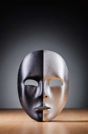 Mask against the dark background Stock Photo - 18744975