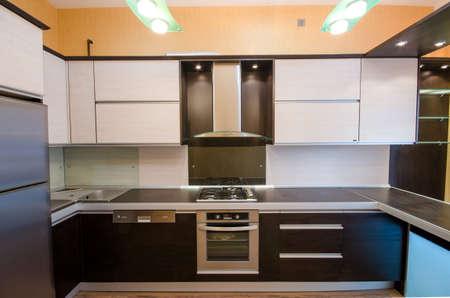 Interior of modern kitchen Stock Photo - 18744724