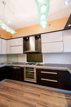 Interior of modern kitchen Stock Photo - 18744744