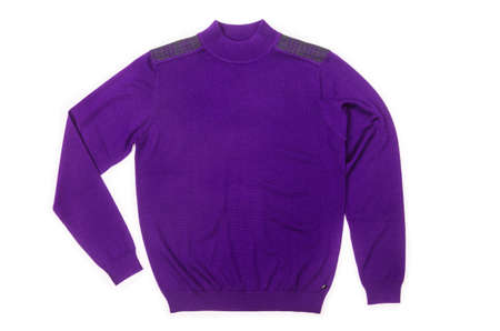 Male sweater isolated on the white Stock Photo - 18744927