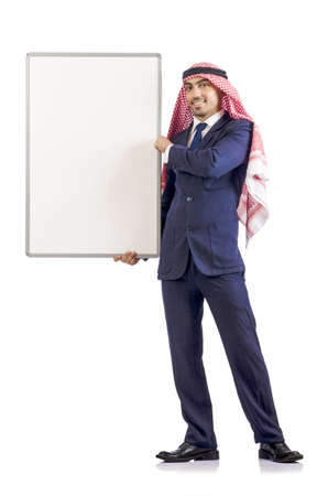 Arab with board photo