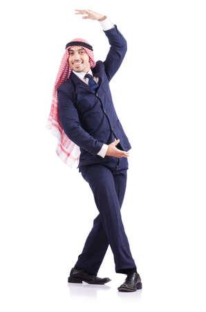Arab businessman isolated on white Stock Photo - 18804181