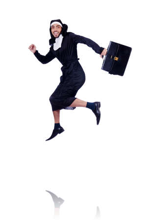Male nun in funny religious concept Stock Photo - 19005126